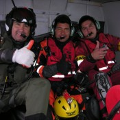 Helicopter crew