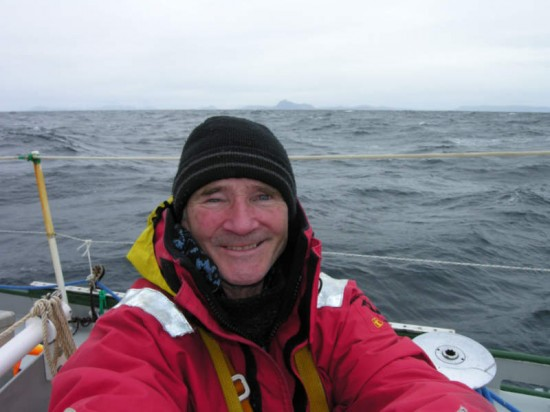 Rounding Cape Horn the first time.