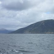 At the south of Le Maire Strait.